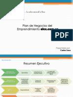 Presentación Plan de Negocios Elcc.com.Ve