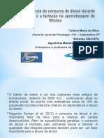 Apresentação Pesquisa Álcool Tcc 2013