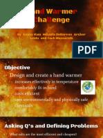 hand warmer challenge