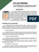 """Exposición de #Filatelia """"Día del Libro- IV Centenario de la Muerte de Cervantes"""""""