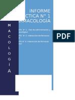 Informe de Práctica n1 farmacologia