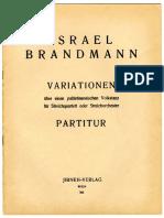 Variationen Palestinensischen Volkstantz