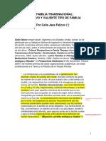 LA FAMILIA TRANSNACIONAL Un Nuevo y Valiente Tipo de Familia. PDF