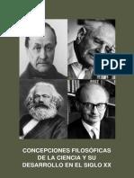 CONCEPCIONES FILOSÓFICAS DE LA CIENCIA Y SU DESARROLLO EN EL SIGLO XX