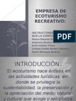 Empresa de Ecoturísmo Recreativo.
