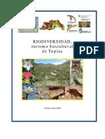 Biodiversidad Municipio Tupiza 2012