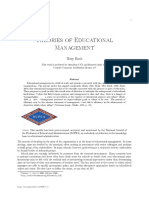 Theories of Educational Management 1 (2)