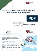 Prezentare IER- fonduri europene