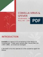 Coxiella Virus & Qfever