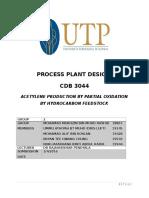 Process Plant Design Group Assignment