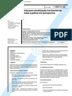 NBR 8169 - Tinta Para Sinalizacao Horizontal de Pistas e Patios Em Aeroportos