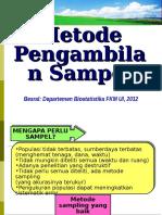 1a.metode Pengambilan Sampel