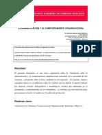 La Administración y el Comportamiento Organizacional