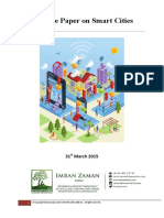 White Paper on Smart Cities