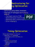 12a Timing Optimization