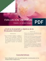 Evaluación Universal