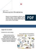 02 Diapositiva de Sistemas Termodinámicos. Primera Ley de La Termodinámica y Tipos de Procesos Termodinámicos