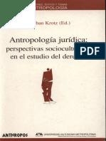 Krotz-Antropologia Juridica