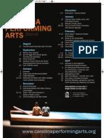 2010-11 Carolina Performing Arts Season - at a glance!