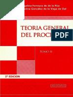 Teoría General Del Proceso - Tomo II
