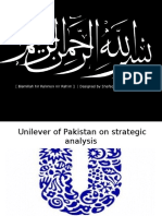 Unilever strategic ppt