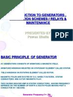 Generator Training