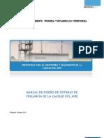 Protocolo Calidad de Aire_Manual de Diseño