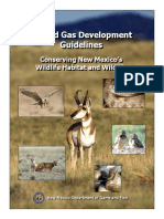 Oil and Gas Develelopment Guidelines