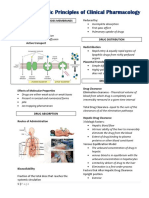 Basic Principles ossf Clinical Pharmacology