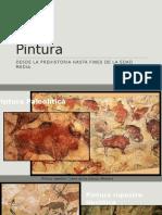 Pintura desde el Paleolitico hasta el Gótico