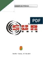 Dossier Prensa Ejercicio Sur 2016