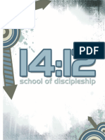 14:12 School of Discipleship 2016