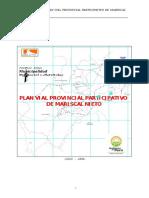 Plan Vial Provincial Mariscal Nieto
