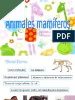 Los mamiferos