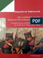 Rabinovich, Ser Soldado en las Guerras de Independencia