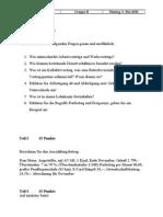 Prüfung Personalverrechnung Gruppe B