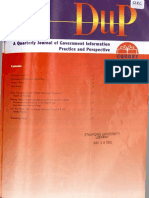 Diip - quaterly journal of government information practice and perspective