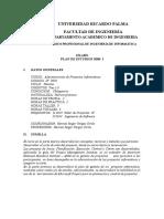If 0902 Administracion de Proyectos Informaticos MSPROJECT