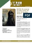 Novedades de Abril de Yermo Ediciones