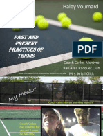 mid-term presentation ism- tennis