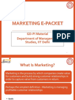Marketing GDPI
