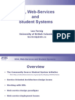 SOA WebServices StudentSystems