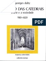O Tempo Das Catedrais a Arte e a Sociedade_1