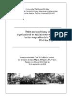 Maestria en Gestion Politica Tesis