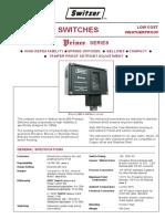 Pressure Switch Prince 901