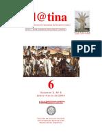 """Ansaldi, Waldo – Villarruel, José C., """"Quiera y Sepa El Pueblo Votar. La Lucha Política en La Argentina Del Centenario"""". en e@Latina. Vol. 2 Nº 6. 2004."""