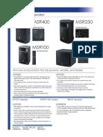 MSR Series Datasheet