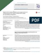 Impacto de La Responsabilidad Social Empresarial en El Comportamiento de Compra 2015