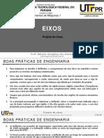2-2. Eixos - Projeto de Eixos