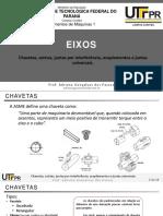 2-3. Eixos - Chavetas, Estrias, Juntas Por Interferência, Acoplamentos e Juntas Universais